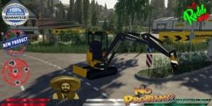 Deere Excavator 17G V1.5 for Farming Simulator 19
