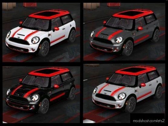 Mini Clubman Skin Pack for Euro Truck Simulator 2