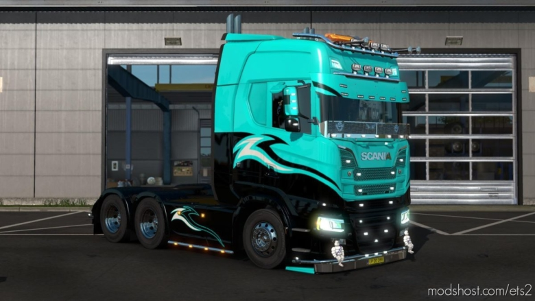Scania S Eu/Uk [Multiplayer] [1.37] for Euro Truck Simulator 2