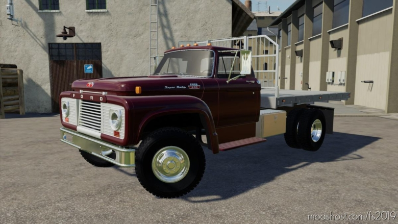 Ford T850 1964 Flatbed V1.1 for Farming Simulator 19