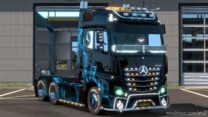 Mercedes Actros 2014 Eu/Uk [Multiplayer] [1.37] for Euro Truck Simulator 2
