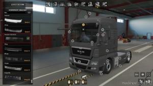 E6 Interior For MAN TGX for Euro Truck Simulator 2