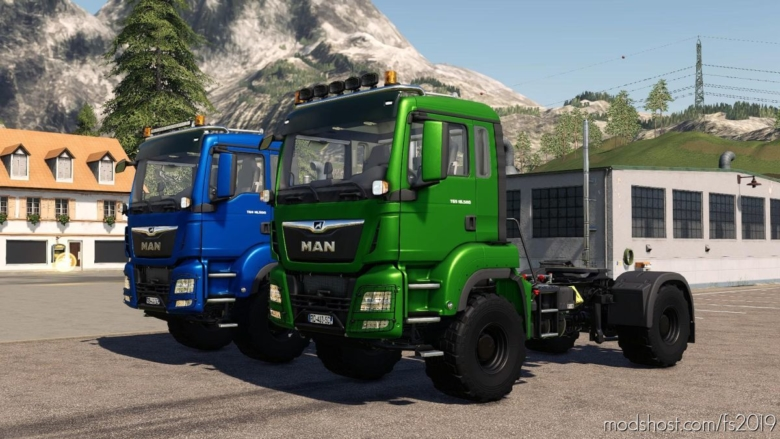 MAN TGS 18500 Agrar for Farming Simulator 19