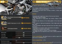 Truck Physics V0.1.0.2 [1.37.X] for American Truck Simulator