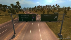 Coast To Coast Map V2.11.2 [1.38]B for American Truck Simulator