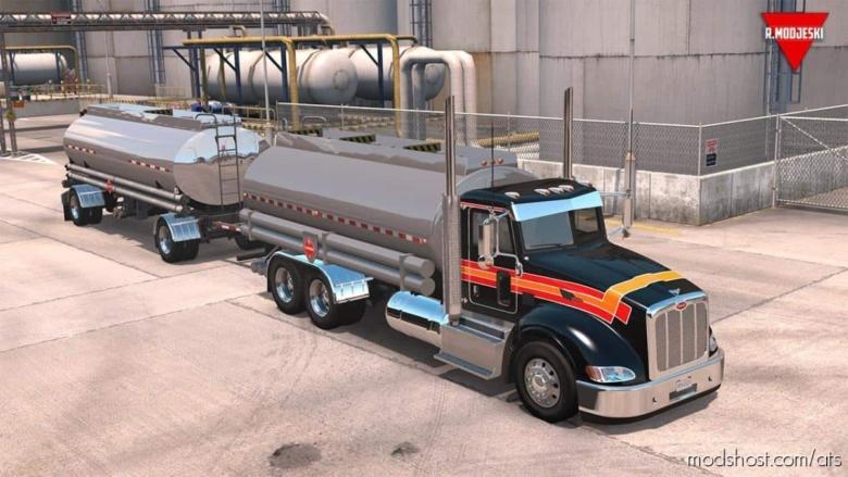 Peterbilt 386 + Interior V1.4 [1.37.X] for American Truck Simulator