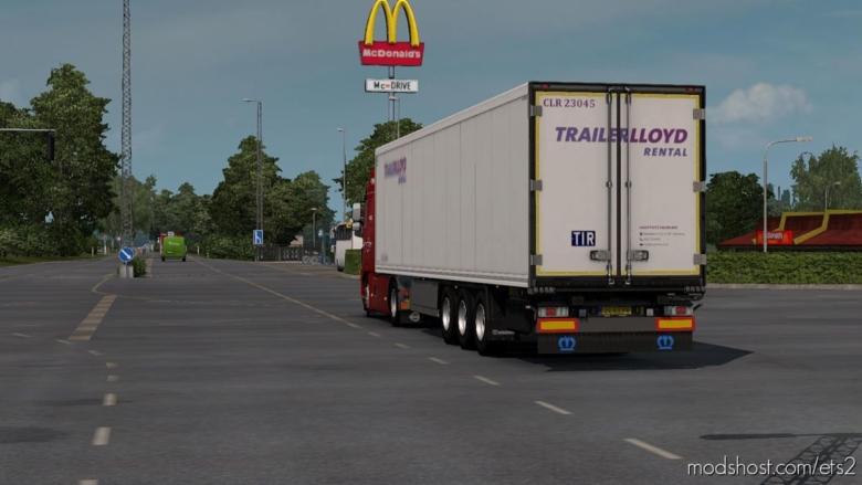 Trailerlloyd Rental Skin For Krone for Euro Truck Simulator 2