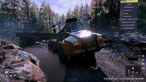 CAT 745C SE Truck V1.0.2 for SnowRunner