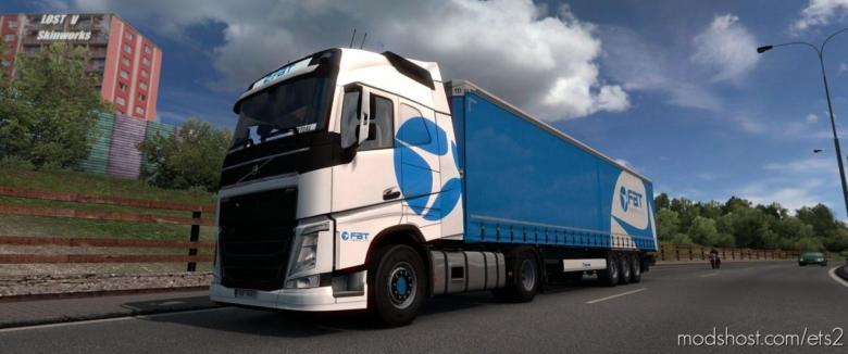 FBT Logistics Skin Pack for Euro Truck Simulator 2