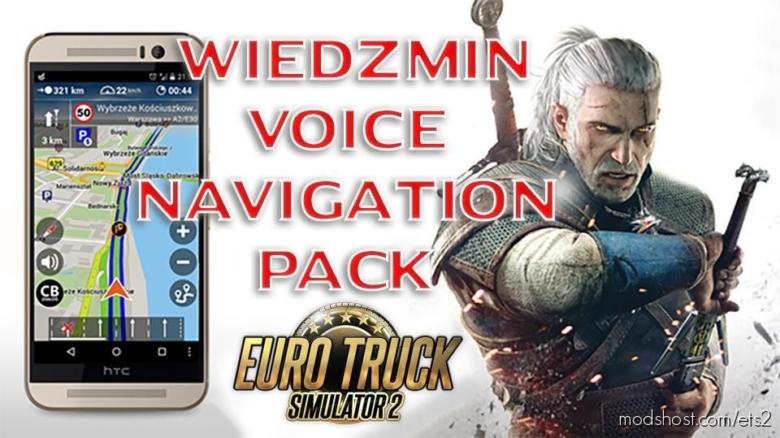 Wiedzmin Voice Navigation Pack for Euro Truck Simulator 2