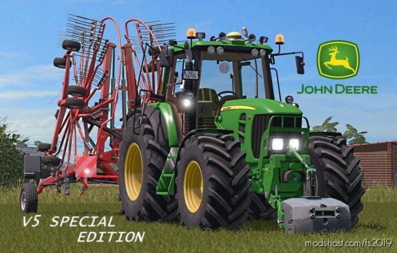 John Deere 7030 Tire Presure for Farming Simulator 19