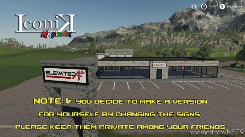 Elevated AF Dealership for Farming Simulator 19
