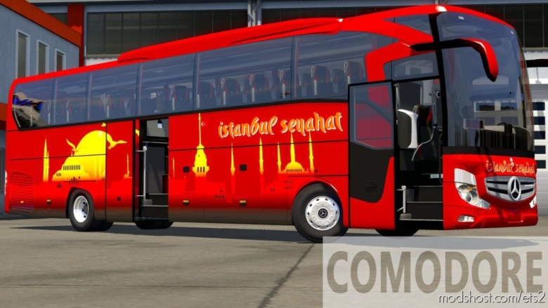 Travego 15-16 SHD 2020 Euro 6 [1.37.X] for Euro Truck Simulator 2