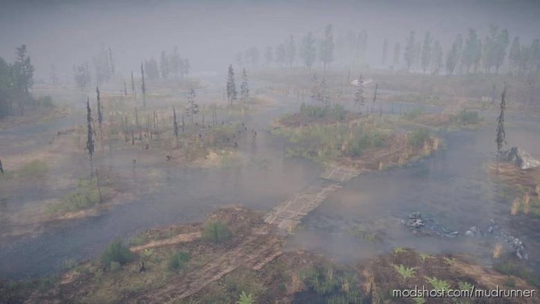 Somewhere Map for MudRunner