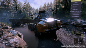 CAT 745C SE Truck V1.0.3 for SnowRunner