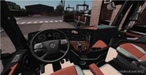 Mercedes Actros MP4 Interior for Euro Truck Simulator 2