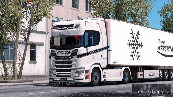Pack Aubert & Fils for Euro Truck Simulator 2