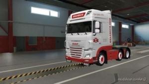 DAF XF106 Braanker Logistics for Euro Truck Simulator 2