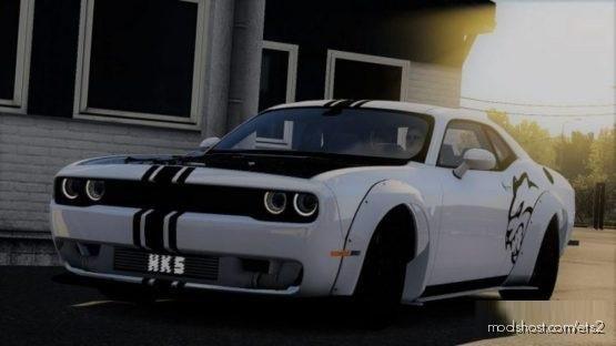 Dodge Challenger [1.37.X] for Euro Truck Simulator 2