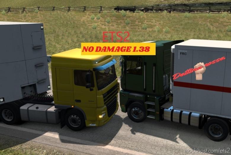 NO Damage V1.6 for Euro Truck Simulator 2
