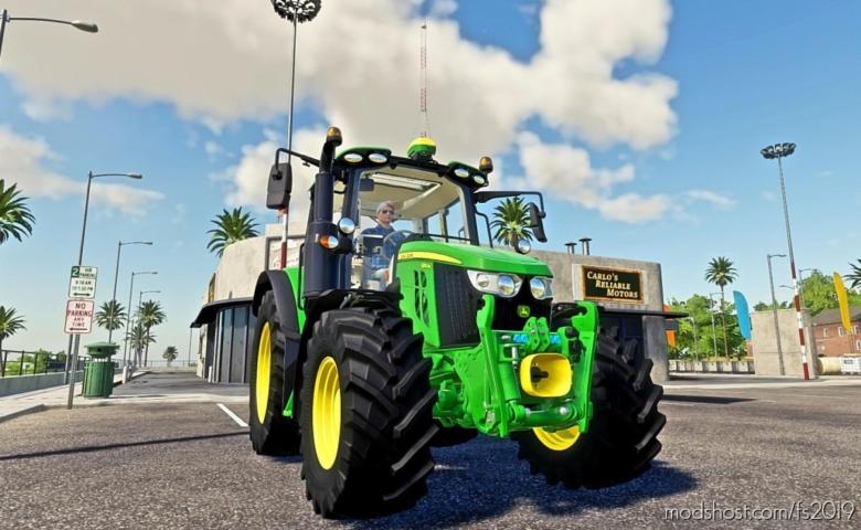 John Deere 6M 2020 for Farming Simulator 19