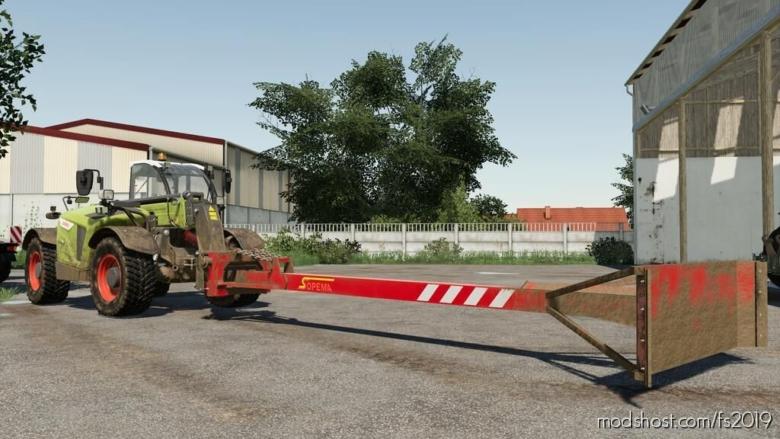 Sopema Leveler for Farming Simulator 19