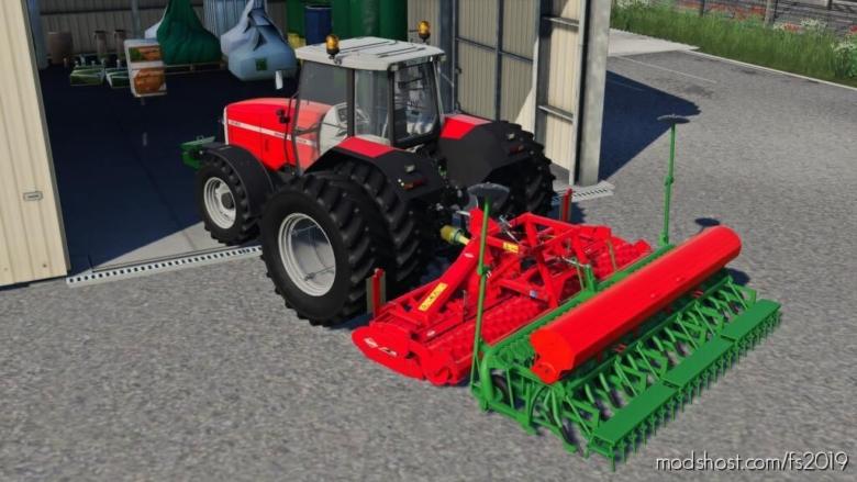Kuhn HR 4004 for Farming Simulator 19
