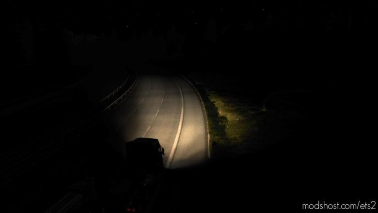 Vintage Halogen Headlights for Euro Truck Simulator 2