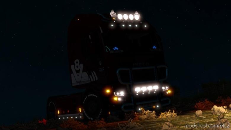 Iveco Hiway V8 Edition + Black Editon [MP] Truckersmp [1.37] for Euro Truck Simulator 2