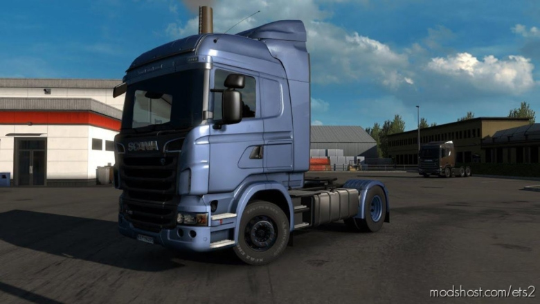 Scania R + Deflector [Mp-Sp] [Truckersmp] [1.37] for Euro Truck Simulator 2