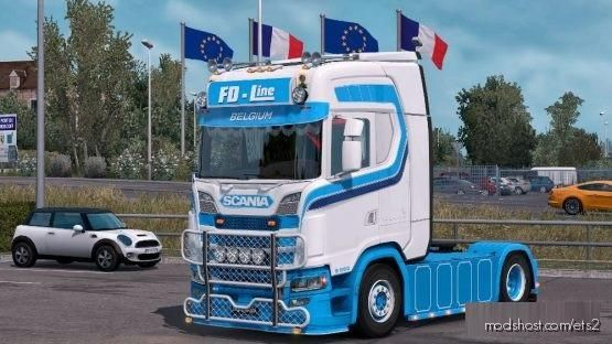 Scania S FD Line for Euro Truck Simulator 2