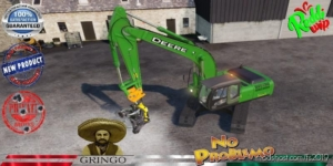 Deere Forestry Excavator 290C V1.5 for Farming Simulator 19