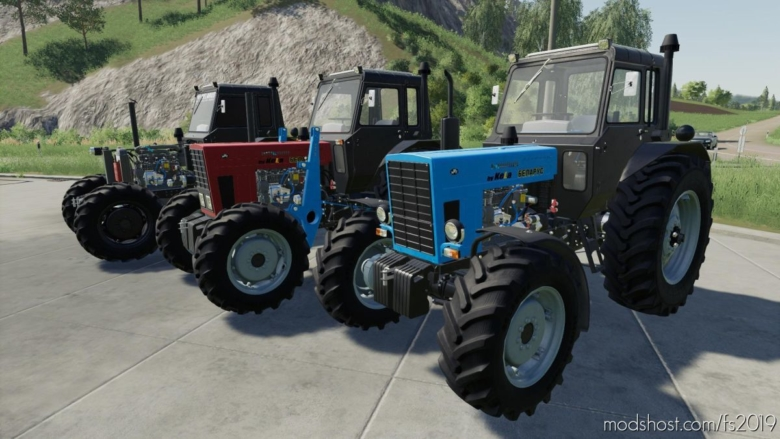 MTZ-82 V1.3.2.1 for Farming Simulator 19