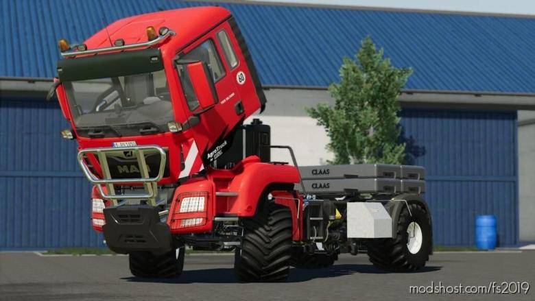 MAN TGS Agro Truck for Farming Simulator 19