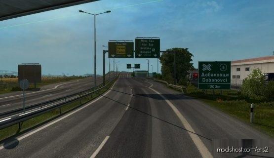 Project Balkans V4.2: Promods 2.46 Addon [1.37.X] for Euro Truck Simulator 2