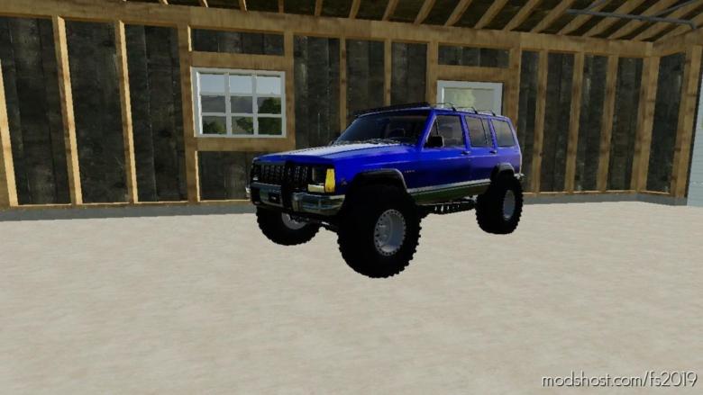 Jeep Cherokee Converted for Farming Simulator 19