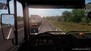 TOP Corner & Small Mirrors [1.37]+ for Euro Truck Simulator 2