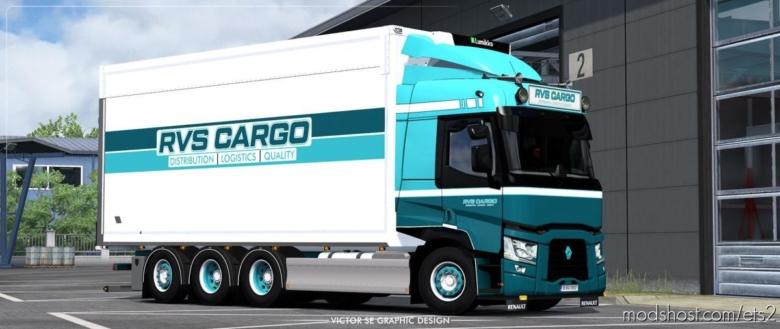 RVS Cargo Renault T Range Rigid Skin for Euro Truck Simulator 2