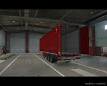 Openable Side Curtain And Back Door (Mp-Truckersmp) for Euro Truck Simulator 2
