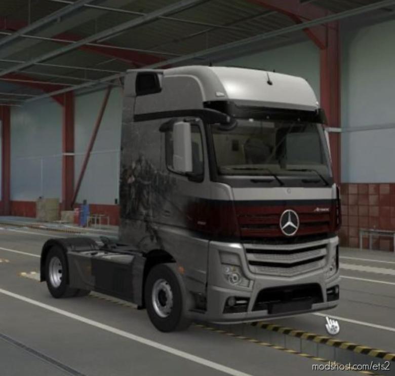 ALL Paintjob Unlocked V1.1 [1.37] for Euro Truck Simulator 2