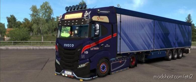 Iveco S-Way Realistic Interior V2.5 [1.37 & 1.38] for Euro Truck Simulator 2