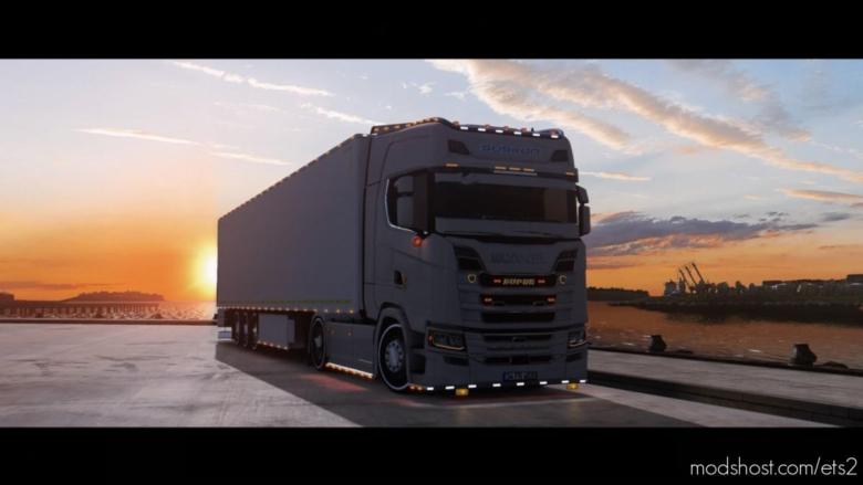 TıR Modlari Scania S Custom Edit [1.37.X] for Euro Truck Simulator 2