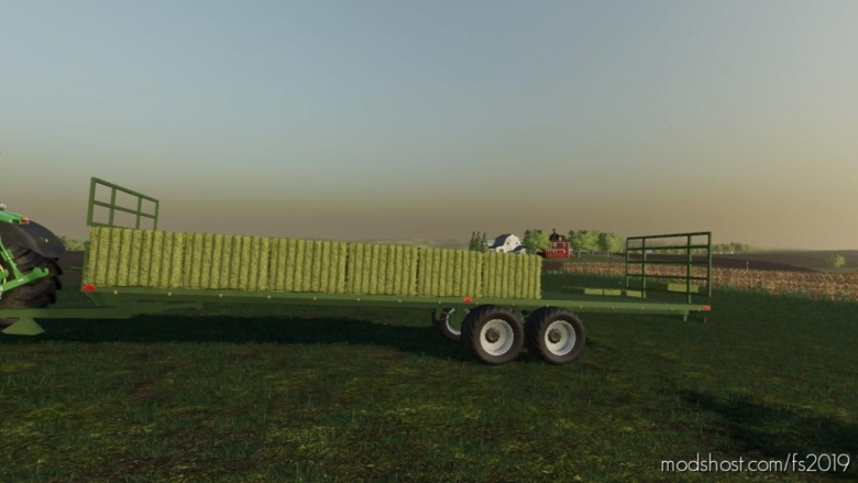 Bale Trailer for Farming Simulator 19