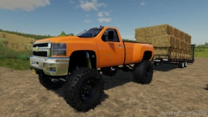 Lifted 2013 Chevy 3500HD for Farming Simulator 19