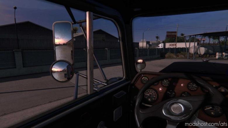 Visual 3D Interior Mod V3.1 Beta [1.37 – 1.38] for American Truck Simulator