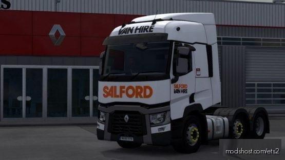 Salford VAN Hire Renault T (SCS) for Euro Truck Simulator 2