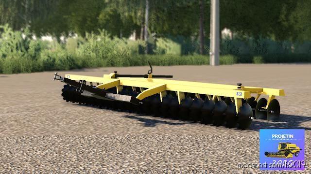 Niveladora Tatu 42 for Farming Simulator 19