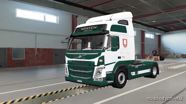 Spaten Skins For Volvo FM for Euro Truck Simulator 2
