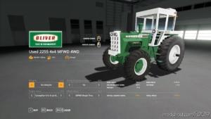 Oliver 2255 Mfwd V1.1 for Farming Simulator 19