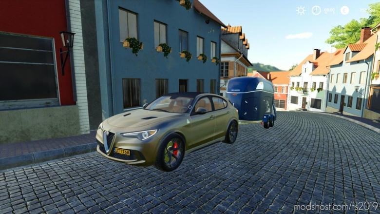 Alfa Romeo Stelvio for Farming Simulator 19
